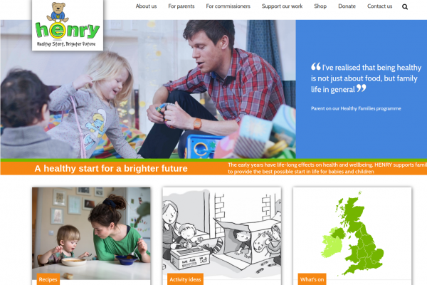 HENRY - parents page - health-and-wellbeing-resources